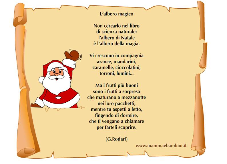 Poesie Di Natale Per Scuola Infanzia.Poesia Di Natale Scuola Infanzia Bologna Italian Guide